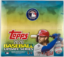 2020 Topps Update Series Retail Box - 24 Packs/16 Cards