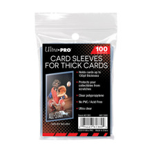Ultra Pro Extra Thick Card Sleevs for Jersey/Relic Cards (100 Pk)