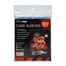 "Ultra Pro Card Card Sleeves 500 Pack (2.5"" x 3.5"")"