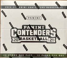 2020-21 Panini Contenders Basketball Factory Sealed Cello Box (FAT PACKS)