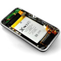 OEM iPhone 3G/s Complete Back Assembly with flex cable + chrome bezel + charging Dock