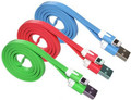 Fettuccine USB Charging cable for iPhones, iPod, and iPad