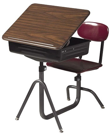 Lovely Classroom Desks | Student Desks l School Desks l Combination Desks  OV09