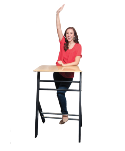 Stand2Learn S2LY18 Y-ze Desk for Grades 6th-12th