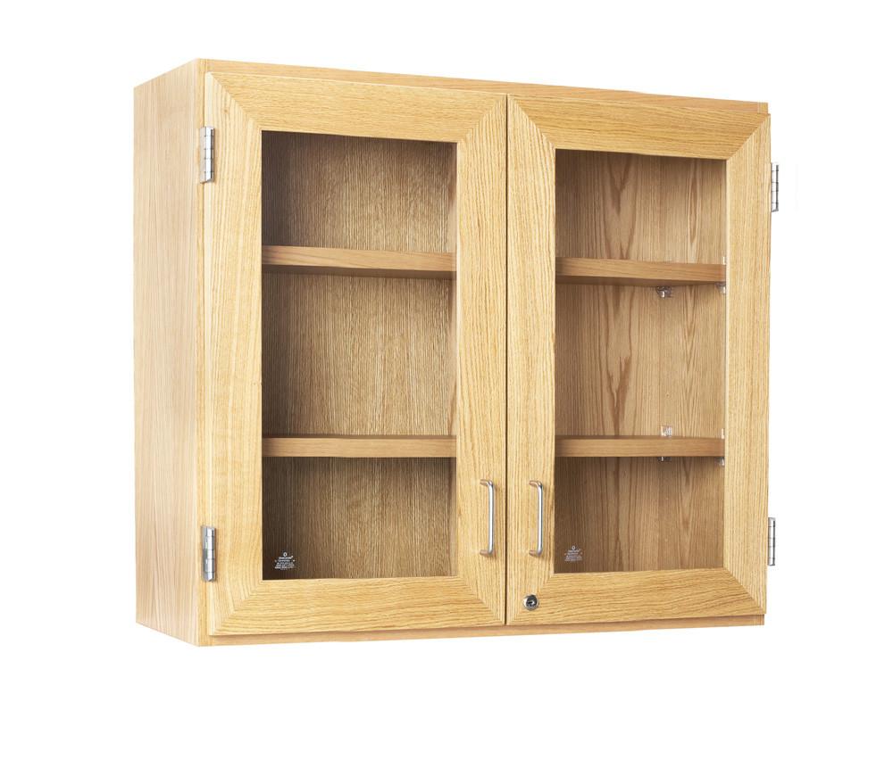 Diversified D06-3012 Glass Door Wall Cabinet 30 inch Width ...