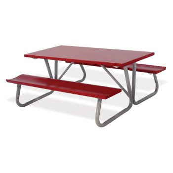 Southern Aluminum PD Deluxe Picnic Table X L Affordable - 96 picnic table
