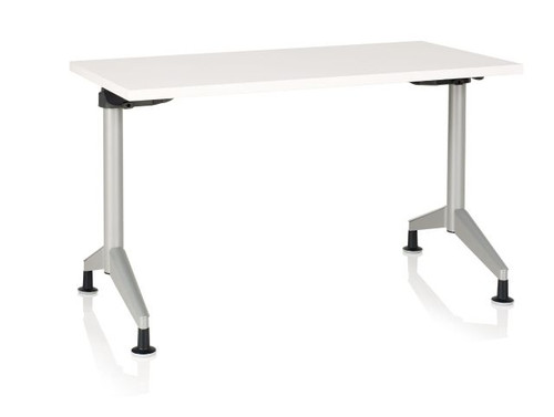 KI PIFRT Pirouette Fixed Rectangle Training Table X L - 18 x 60 training table