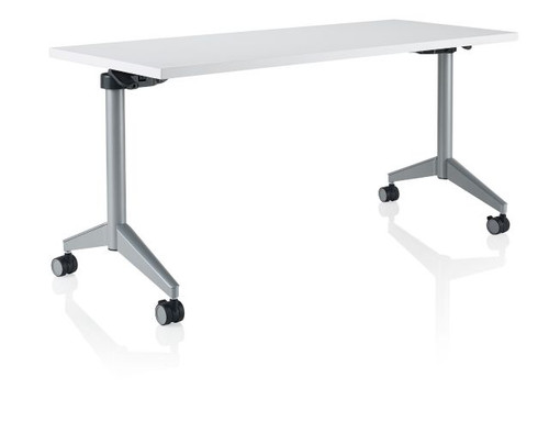 KI PINRT Pirouette Nesting Rectangle Training Table X L - 18 x 60 training table