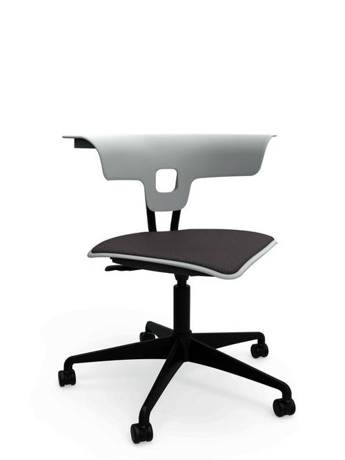 ki ruckus rk5200 upholstered seat task chair adjustable height l