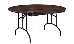 MTS Seating 415 72RD AL Continuity Arched Leg Round Folding Table 72 Inch
