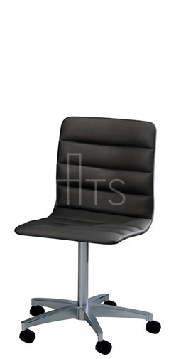 MTS Seating 7523 C E CHI Lehto Swivel Caster Guest Chair With Channels 18  Inch