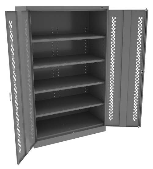 Jumbo Cabinet With Perforated Doors 48x24x78