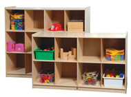 Steffy Wood ANG1413 Cubby Storage Cabinet with 8 Cubbies  sc 1 st  Todayu0027s Classroom & Steffy Wood ANG1414 Cubby Storage Cabinet with 12 Cubbies ...