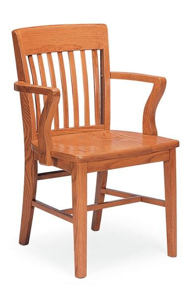Ordinaire Community 301A Americana All Wood Arm Chair