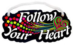 Follow Your Heart Velvet Rope Word