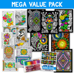 Mega Value Pack (Includes 50 Sargent Art Markers)