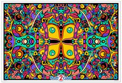 Kaleidoscope - Coloring Poster