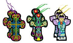 Fuzzy Crosses - 6 Pack