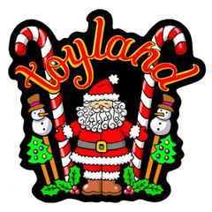 Toyland - Velvet Holiday Ornament