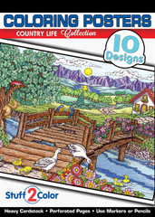 Country Life - Coloring Book