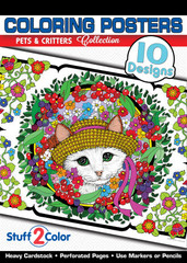 Pets and Critters - Coloring Book