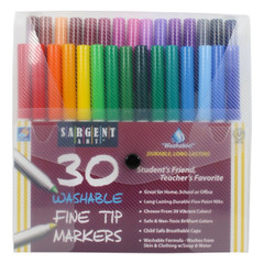 Sargent Art Fine Tip Markers - 30 Pack