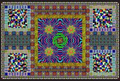 Mindbender - Giant Coloring Poster
