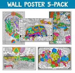 Giant Poster 5-Pack (Original Edition)