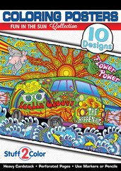 Fun in the Sun - Coloring Book