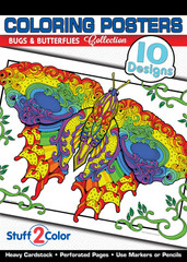 Bugs & Butterflies - Coloring Book
