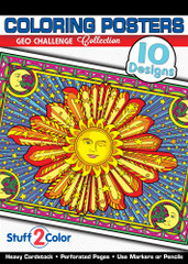 Geo Challenge - Coloring Book