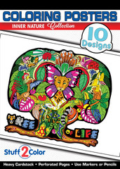 Inner Nature - Adult Coloring Book