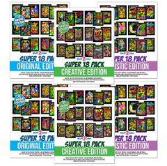 Blowout Pack of 108 Fuzzy Velvet Posters