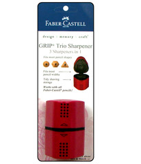 Faber-Castell Grip Trio Pencil Sharpener