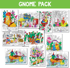 Gnome Bundle 10-pack - Heavy Cardstock