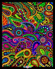 Paisley - Fuzzy Velvet Poster