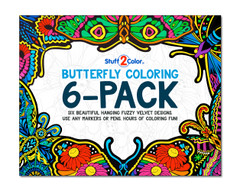 Hanging Butterfly 6-Pack
