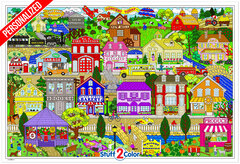 Personalized Your Town (Giant Sized)