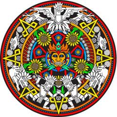 Mayan Fuzzy Mandala