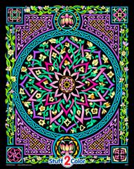 Lotus - 16x20 Fuzzy Velvet Poster