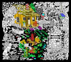 Cabin Well - 23x20 Fuzzy Velvet Poster