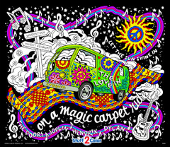 Magic Love Bus - Fuzzy Poster