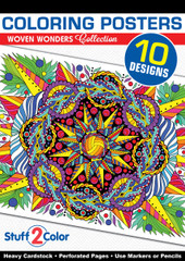 Woven Wonders - Coloring Book