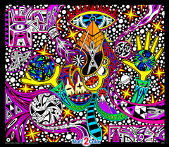 Twisted Logic - Fuzzy Coloring Poster