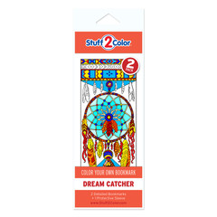 Dream Catcher - Coloring Bookmark (2 Pack)