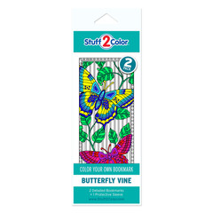 Butterfly Vine - Coloring Bookmark (2 Pack)