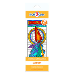 Arrow - Coloring Bookmark (2 Pack)