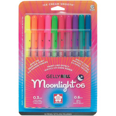 Sakura Moonlight 10-Piece Gelly Roll Pens