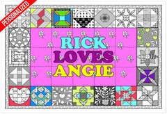 Personalized - Love Quilt (Giant Sized)