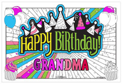 Personalized Birthday Poster (Giant Sized)